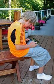 poor posture in children