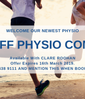 50% Off Physio with Clare Roohan